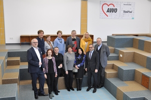 Fot der Delegation in AWO-Thinkpool
